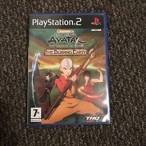 Avatar: The Burning Earth (Sony PlayStation 2, 2007) - European Version