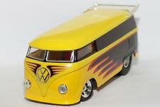 1:18 Customized VW T1 Drag Bus   gelb-schwarz   Hot Wheels   Modellauto PKW