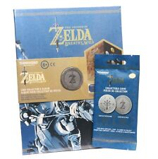 Legend of Zelda Breath of the Wild Coin Collector's Album + One Collectible Coin