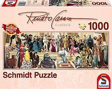 Schmidt 59381 Puzzle 100 Anni di Cinema Renato Casaro 1000 Pezzi (m5j)