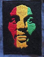 Bob Marley Rasta-Color Face Patch Authentic Jamaica Reggae Rock *NEW*