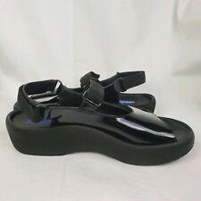 Wolky Womens Comfort Jewel Slingback Sandals EUR 40 Black Patent
