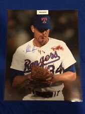Nolan Ryan Bloody Lip Signed 16x20 Photo w/ Leaf COA & Ryan Holo Texas Rangers