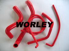 Red silicone hose for HOLDEN COMMODORE VZ STATESMAN WL 5.7L 6.0L HSV V8