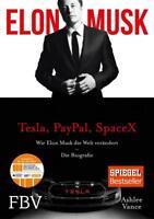 Elon Musk von Elon Musk und Ashlee Vance (2015, Audio CD, deutsch)