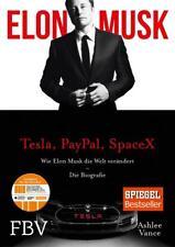 Elon Musk von Elon Musk und Ashlee Vance (2015, Gebundene Ausgabe)