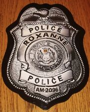 THE POLICE ROXANNE BADGE SHAPED PROMO PICTURE DISC  ~ 1979