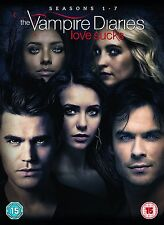 VAMPIRE DIARIES Love Sucks Stagioni 1-7 Complete BOX 35 DVD in Inglese NEW .cp