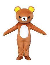 Rilakkuma Kuma Bear Adult Mascot Costume Fancy Dress Cosplay Outfit UK