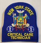NY EMS Critical Care Technician Emergency Medical Services Patch - Royal