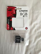 Kingston microSoft Flash Card + SD Adapter, Black Opened Has Not Been Used.