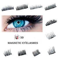 Magnetische Aibor Wimpern Falsche Eyelashes 3D Wimpernverlängerung Kein Kleber