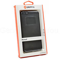 Genuine Griffin Reveal Clear Case + Screen Protector  For iPhone 6 Plus 6S Plus