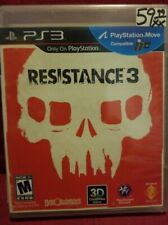 Resistance 3 (Sony PlayStation 3, 2011) new sealed ps3