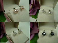 Mode-Ohrschmuck im Clip-Stil aus Metall-Legierung mit Perlen (Imitation)