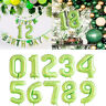 Number Foil Balloons 40 inch Digit Helium Ballons Wedding Birthday Party Decor K