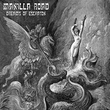 MANILLA ROAD - DREAMS OF ESCHATON - 2LP SILVER VINYL NEW UNPLAYED 2016