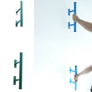 Iron Clan Set of Steel Bars For Human Flags and Callisthenics, Core Training