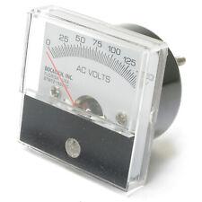 Analog Panel Meter, 0 - 150 Volt AC, 2 inch