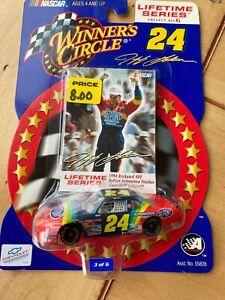 Nascar Winner's Circle Lifetime Series Jeff Gordon 1994 Lumina #24