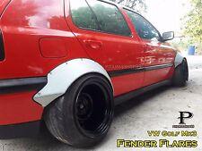 "Fender Flares Rocket Bunny Style for VW Golf Mk3 premium sheet metal 1/32"" / JDM"