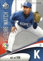 2006 SP Authentic WBC Future Watch #69 Min Jae Kim /999 - NM-MT
