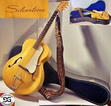 Vintage Rare Silvertone Guitar w/ Case