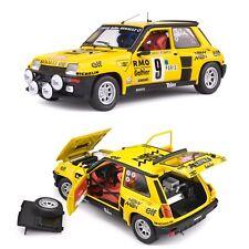 1/18 Solido Renault 5 Turbo N°9 B.Saby Rallye Monte Carlo 1982 Livraison Domicil