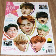 ASTA TV BTS BANGTAN BOYS TWICE KOREA MAGAZINE 2017 APR APRIL NEW