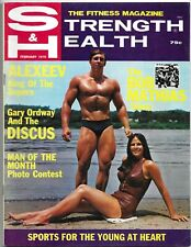 Strength & Health, Muscular Development - 1970s Fitness Magazines