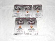 92-93 UPPER DECK BASKETBALL HIGH SERIES WAX PACK 5 PACKS FREE SHIPPING