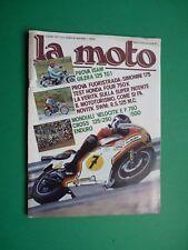 LA MOTO Luglio 1977 Isam Gilera 125 TG1 Simonini 175 Honda four 750 K Cross 250