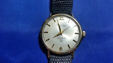 Vintage Lucien Piccard Automatic Shashark Solid Gold Top Men's Watch