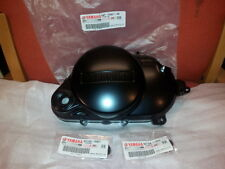 GENUINE YAMAHA PW80 RIGHT HAND ENGINE COVER. INCLUDING OIL SEALS AND GASKET.