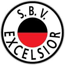 "Sbv Excelsior Fc Netherlands Football Soccer Car Bumper Sticker Decal 4.6""X4.6"""