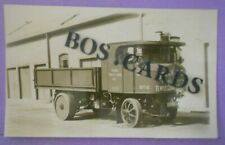 More details for rp postcard c.1925 steam lorry stock & son haulage temple cloud somerset