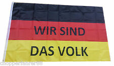 "Germania Bandiera ""siamo il popolo"" (pegida bandiera, AFD demo, Merkel deve strada)"