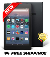 "NEW! Amazon Fire HD 8 (8th Gen) Kindle Tablet E-Reader (8"" HD 16 GB) - Black"