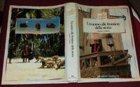 LIBRO VINTAGE BOOK ERI SERIE TV ANNI 80 CRISTOFORO COLOMBO-UOMO FRONTIERE STORIA