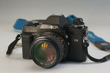 MINOLTA X-600 SLR Film Camera MD 50mm 1:1.4 Lens AS-IS Free Ship 939f09