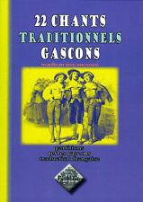 22 chants traditionnels gascons - Henri Marliangeas