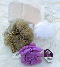 Bath Loofah Sponge Back Scrubber Shower Body Exfoliating Soft Brush Face Scrub