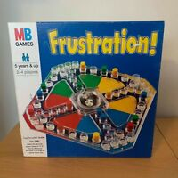 FRUSTRATION BOARD GAME BY MB GAMES VINTAGE EDITION DATED 1996 COMPLETE