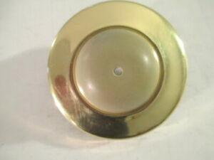 3 -  IVES 407B3 Bright Solid Brass Flush Mount Wall Doorstop Bumper Door Stops