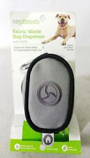 So Phresh Dog Fabric Waste Bag Dispenser with Refills 30 Count