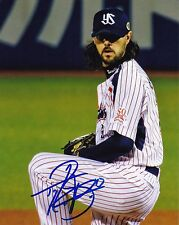 Tony Barnette Autographed 8x10 Toyko Yakult (Texas Rangers) Free Shipping