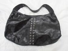 Large Black Leather handbag, new without tags, never used, like new
