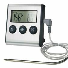 Remote Digital Cooking Meat Thermometer with Probe For Grill Oven BBQ Timer USA