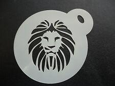 Corte láser Pastel De Diseño Pequeño León K, Cookie, Craft & Plantilla de Pintura de cara