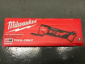 Milwaukee 2626-20 M18 18V 18 Volt Li-Ion Cordless Multi-Tool New In Box